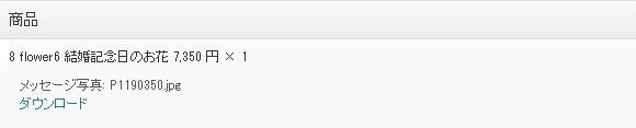 アップロードされたファイルの表示